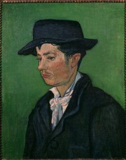 """Vincent van Gogh """"Bildnis Armand Roulin"""", 65 x 54 cm"""