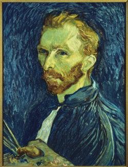 "Vincent van Gogh ""Selbstbildnis"" 57 x 43,5 cm"