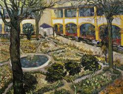 "Vincent van Gogh ""Garten des Hospitals in Arles"", 73 x 92 cm"