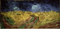 """Vincent van Gogh """"Weizenfeld mit Raben"""" 50,5 x 103 cm"""