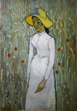 """Vincent van Gogh """"Junges Maedchen 66 x 45 cm"""