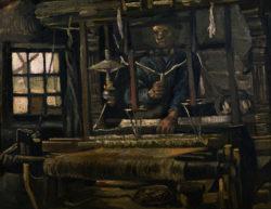 "Vincent van Gogh ""Weber am Webstuhl"", 47 x 61,3 cm"