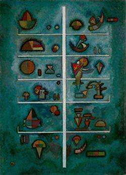 "Wassily Kandinsky ""Etagen"" 41 x 56 cm"