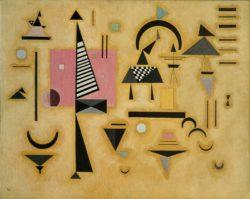 """Wassily Kandinsky """"Entscheidendes Rosa"""" 100 x 80 cm"""