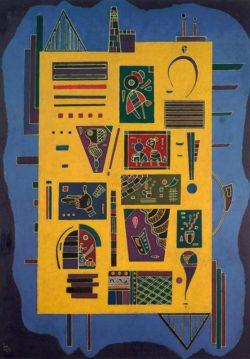 "Wassily Kandinsky ""Ein Konglomerat"" 42 x 58 cm"