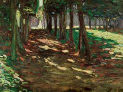 "Wassily Kandinsky ""Im Parkon Saint Cloud"" 63 x 46 cm"