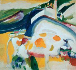"Wassily Kandinsky ""Die Kuh"" 105 x 95 cm"