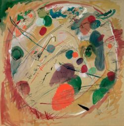 """Wassily Kandinsky """"Im Kreis"""" 49 x 49 cm"""