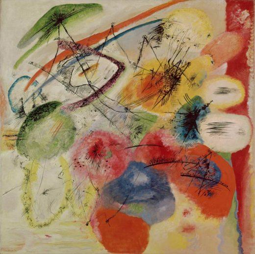 "Wassily Kandinsky ""Schwarze Linien"" 131 x 129 cm"