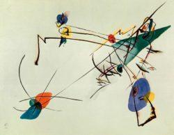 "Wassily Kandinsky ""Einfach Aquarell"" 28 x 21 cm"