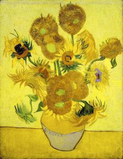 """Vincent van Gogh """"Sonnenblumen"""" 95 x 73 cm"""