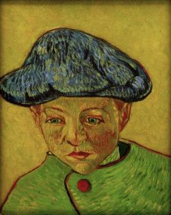 "Vincent van Gogh ""Bildnis Camille Roulin"" 43,2 x 34,9 cm"