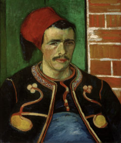 "Vincent van Gogh ""Der Zuave"" 65 x 54 cm"