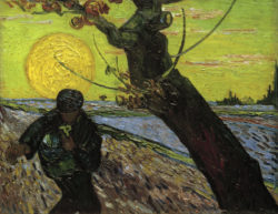 """Vincent van Gogh """"Le Semeur"""" (Der Saemann) 32 x 40 cm"""