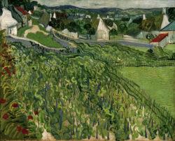 """Vincent van Gogh """"Weinberge mit Blick auf Auvers"""" 65,1 x 80,3 cm"""