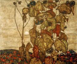 """Egon Schiele """"Herbstsonne"""" 121 x 100 cm"""