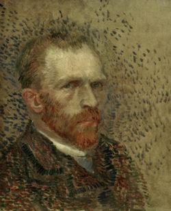 "Vincent van Gogh ""Selbstbildnis"" 41 x 33 cm"