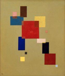 """Wassily Kandinsky """"13 Rechtecke"""" 60 x 69 cm"""