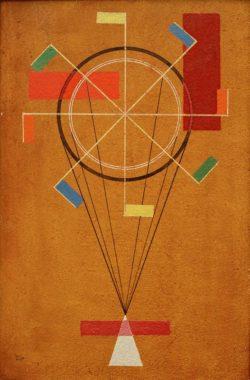 """Wassily Kandinsky """"Fidel"""" 23 x 35 cm"""