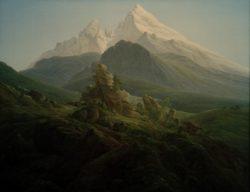 """Caspar David Friedrich """"Der Watzmann""""  170 x 135 cm"""