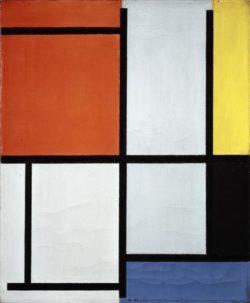 """Piet Mondrian """"Composition"""" 49 x 41 cm"""