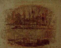 """Piet Mondrian """"Bauernhof Geinrust"""" 47 x 65 cm"""