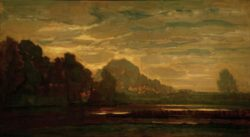 """Piet Mondrian """"Moor bei Saasveld"""" 102 x 180 cm"""