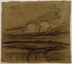 """Piet Mondrian """"Landschaft bei Oele"""" 31 x 34 cm"""