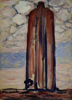 """Piet Mondrian """"Leuchtturm in Westkapelle"""" 71 x 52 cm"""