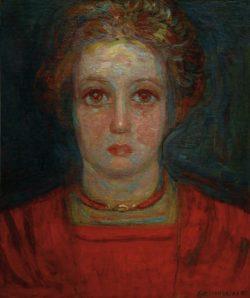 "Piet Mondrian ""Mädchenporträt"" 49 x 41 cm"