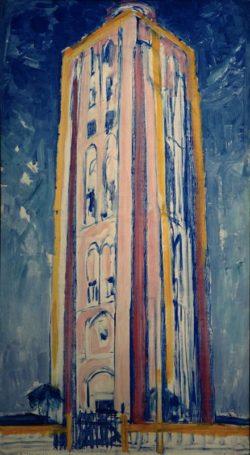 "Piet Mondrian ""Leuchtturm bei Westkapelle"" 135 x 75 cm"