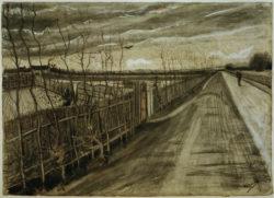 """Vincent van Gogh """"Landstraße"""" 24,6 x 34,4 cm"""