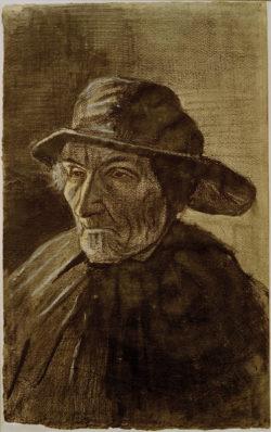"""Vincent van Gogh """"Fischer mit Suedwester"""" 50,5 x 31,6 cm"""