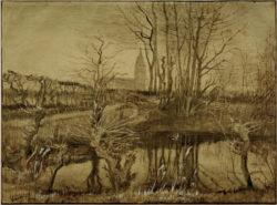 "Vincent van Gogh ""Eisvogel"" 40,2 x 54,2 cm"