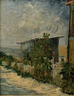 """Vincent van Gogh """"Schuppen mit Sonnenblumen"""" 35,6 x 27,3 cm"""