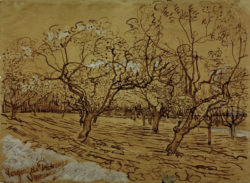 """Vincent van Gogh """"Provenzalischer Obstgarten"""", 39,5 x 53,6 cm"""