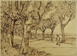 """Vincent van Gogh """"Die Straße nach Tarascon"""" 25,8 x 35 cm"""