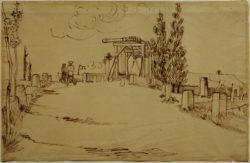 """Vincent van Gogh """"Die Bruecke von Langlois"""" 30,7 x 47,7 cm"""