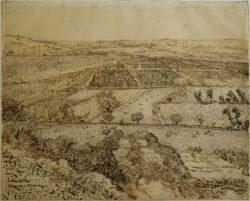 "Vincent van Gogh ""La Crau vom Montmajour aus gesehen"", 49 x 61 cm"