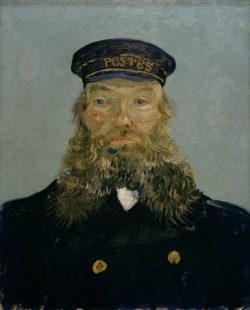 """Vincent van Gogh """"Portraet des Joseph Roulin"""", 64,1 x 47,9 cm"""