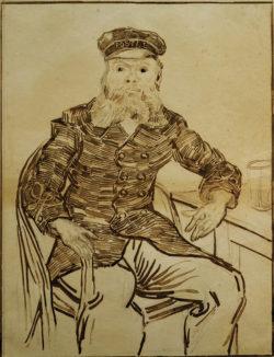 """Vincent van Gogh """"Portraet des Joseph Roulin"""", 51,4 x 42,2 cm"""