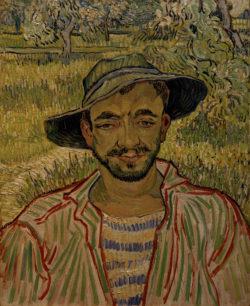 "Vincent van Gogh ""Der Gaertner"" 61 x 50 cm"