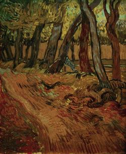 """Vincent van Gogh """"Weg im Garten der Heilanstalt"""", 61,4 x 50,4 cm"""