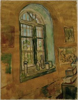 "Vincent van Gogh ""Atelierfenster"" 61,5 x 47 cm"