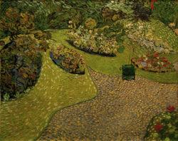 """Vincent van Gogh """"Garten in Auvers"""" 64 x 80 cm"""