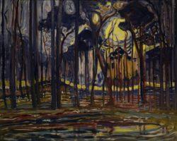 """Piet Mondrian """"Wald bei Oele"""" 128 x 158 cm"""