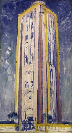 """Piet Mondrian """"Leuchtturm in Westkapelle"""" 135 x 75 cm"""