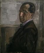 """Piet Mondrian """"Mondrian Selbstporträt"""" 88 x 71 cm"""