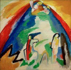 "Wassily Kandinsky ""Berg"" 109 x 109 cm"