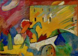 "Wassily Kandinsky ""Improvisation"" 130 x 94 cm"